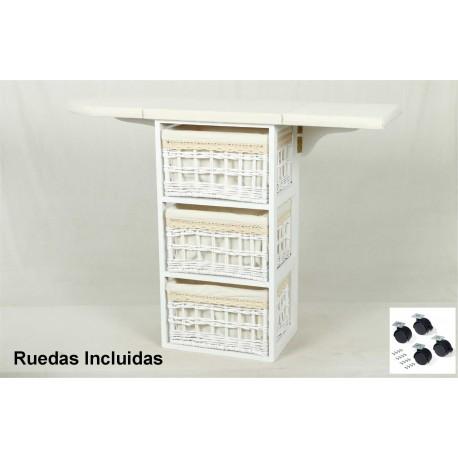 Mueble de plancha Coimbra blanco
